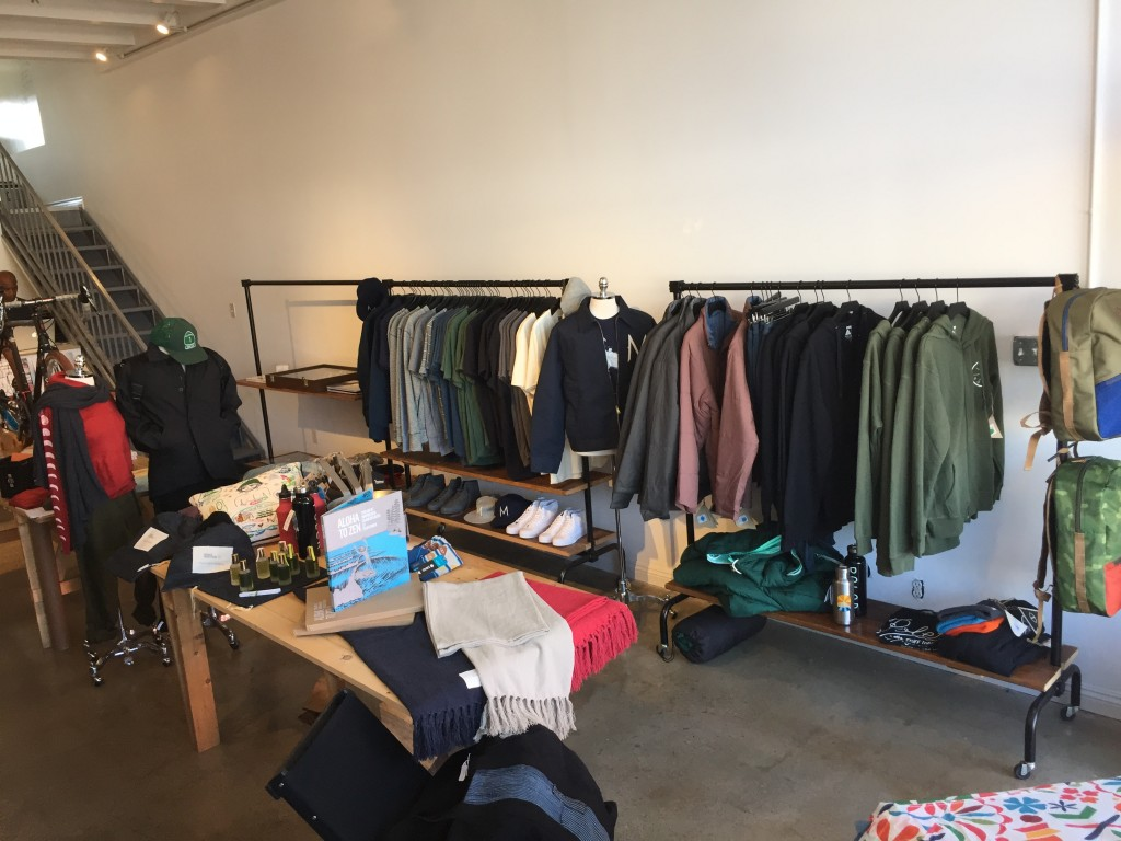 Inside the Shelter Half Pop-Up