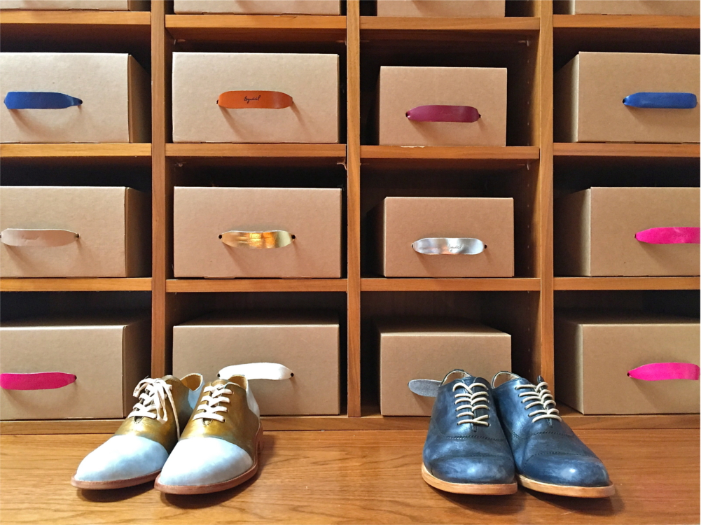 shoe selection at DF Feet