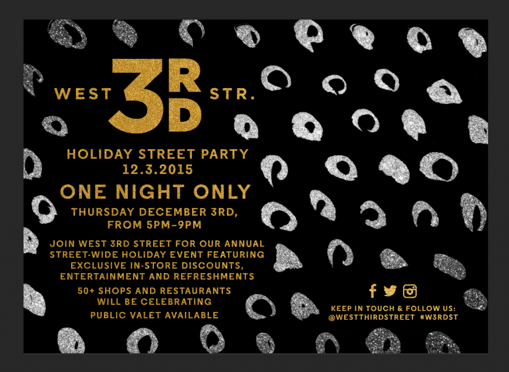W3RDST Holiday Street Party