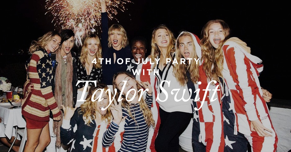 gigi-hadid-and-cara-delevingne-wear-american-flag-jumpsuits-at-taylor-swifts-a-list-fourth-of-july-bash-1