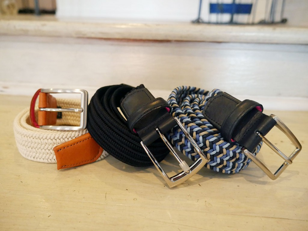 Assorted belts, $85 at Carlton Drew
