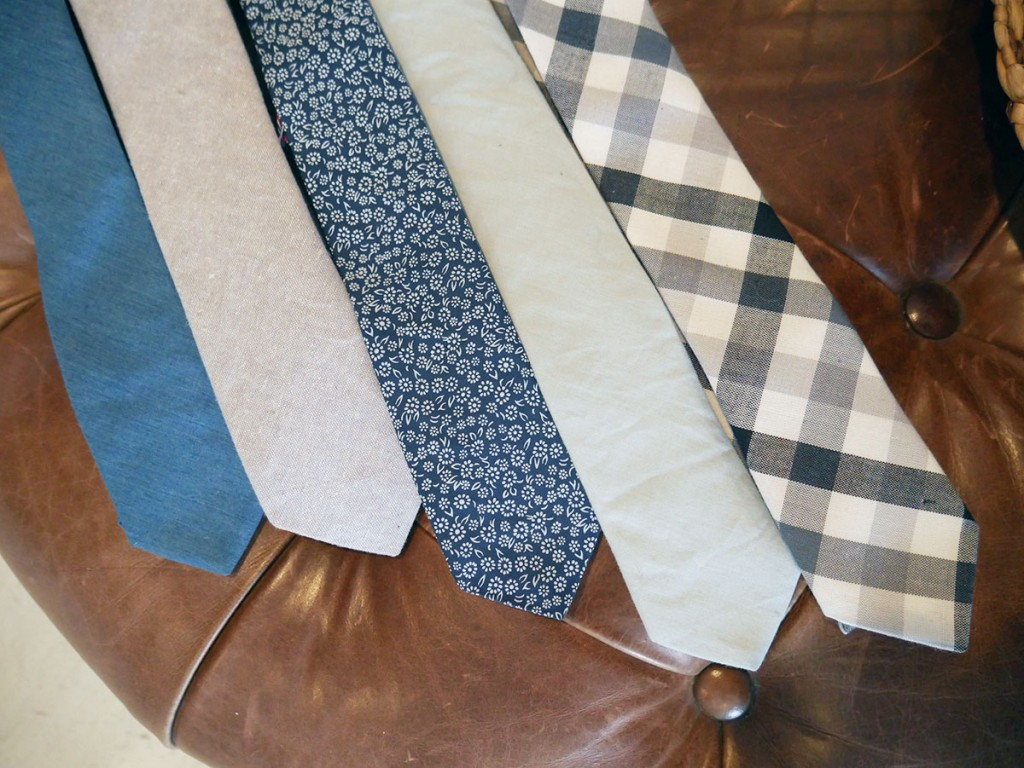 Assorted ties, $68 at Carlton Drew