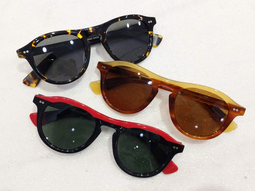 Dan Deutsch Optical Outlook sunglasses, $395 and up