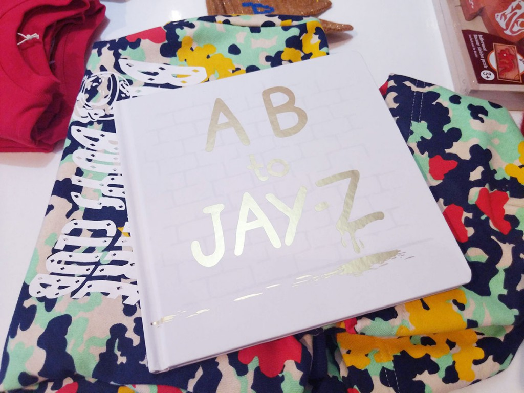 AB to Jay-Z book, $TK at Eggy