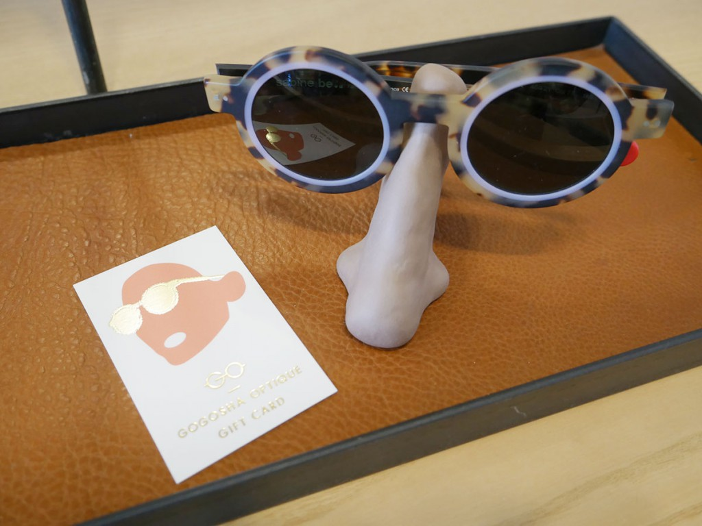 Gogosha Optique gift card, available in any value