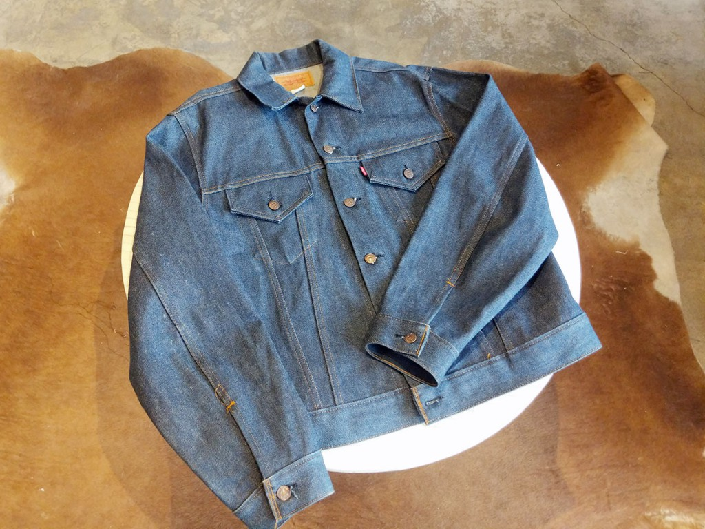 Levi's vintage trucker jacket, $225 at Lot, Stock, & Barrel