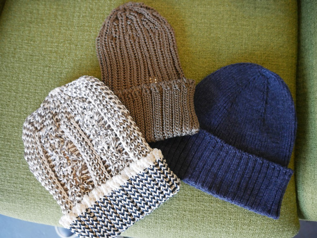 Patagonia and Cambleami beanies, $29 to $45 at Wittmore