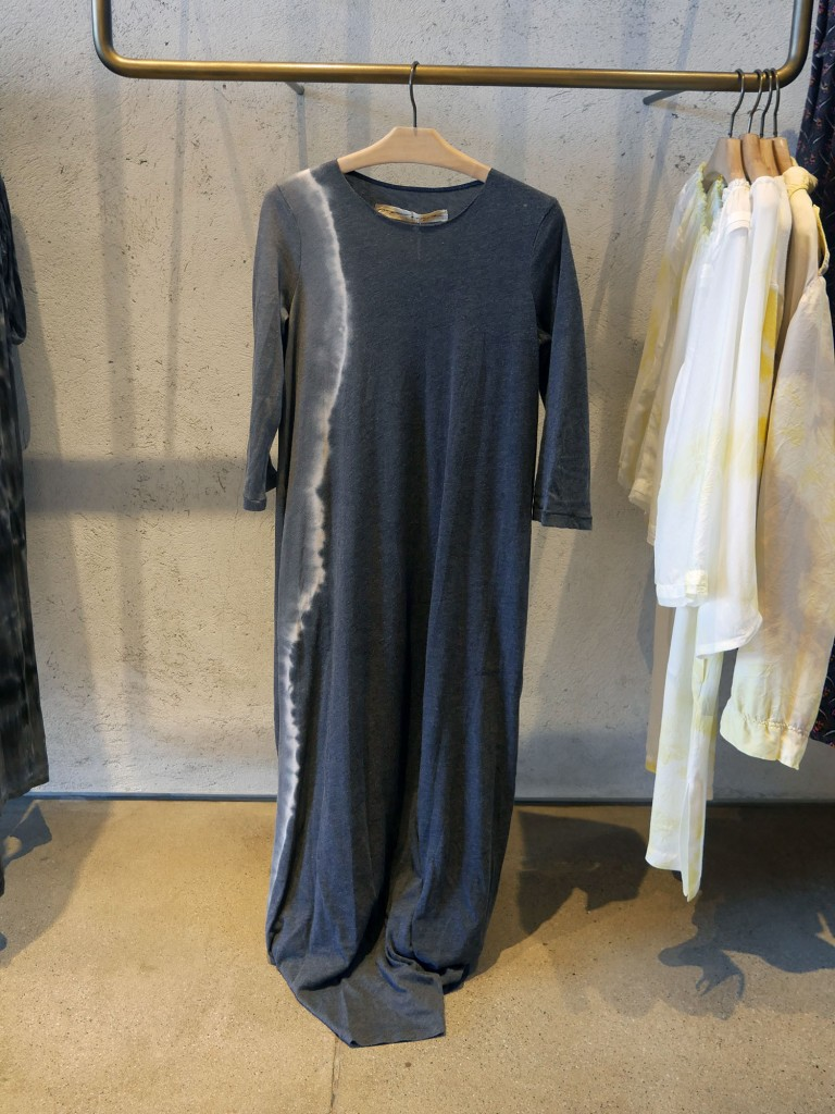 Raquel Allegra half-sleeve jersey maxi dress, $346