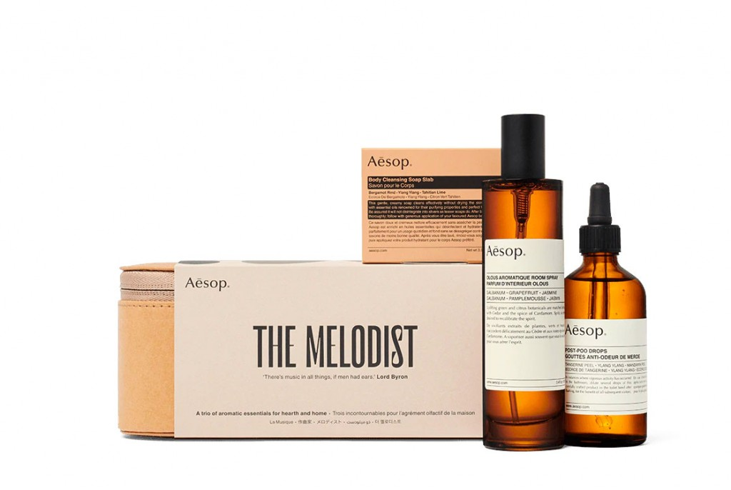 Aesop The Melodist home fragrance gift set, $83