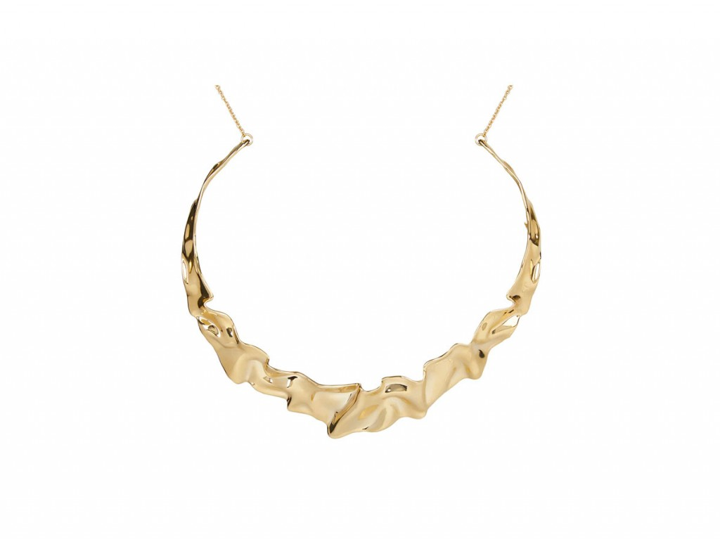 alexis-bittar-crinkle-necklace